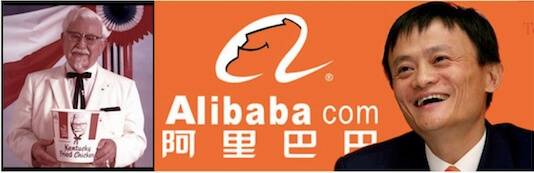 You are currently viewing What does Colonel Sanders of KFC and Jack Ma of Alibaba have in common?