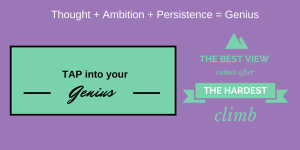 Read more about the article TAP into your Genius