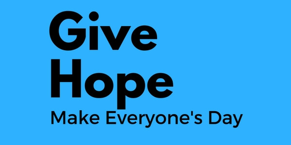 You are currently viewing Give Hope